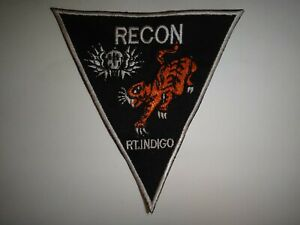 Vietnam Guerre États-Unis 5th Forces Spéciales Groupe Macv-Sog Rt Indigo Recon