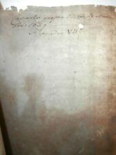 Raro Papa Alessandro VII Firmato Antico documento manoscritto 15 Novembre 1659