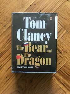 The Bear and the Dragon By Tom Clancy Cassette Audiobook Free UK Postage