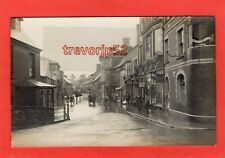 More details for bridge street usk monmouthshire floods flooding 1925 rp pc  ref t563