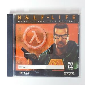 Half Life Game Of The Year Edition Classic PC Game - Free Postage
