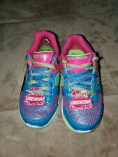 NEW Sketchers girls kids Beautiful shoes Multicolor size 11 US Very Cute!