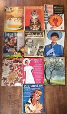 Woman's Day Magazines Lot of 13 Vintage Magazines 1948 - 1967