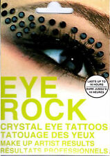 EYE ROCK CRYSTAL Temporary Eye Make Up Tattoo Stickers Type 4