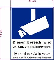 Kein Müllplatz wetterfestes massives PVC-Schild für den Außenbereich