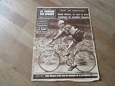 JOURNAL MIROIR DES SPORTS BUT CLUB  732 9 mars 1959 anquetil mimoun bliard