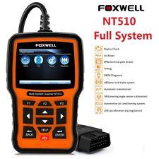 Foxwell NT510 for AUDI VW SEAT SKODA ABS SRS EPB DPF OBD2  Code Reader Scanner
