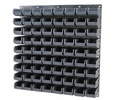 NEW Economy Plastic Parts Storage Bin Kit With Steel Wall Panel Set 14 Free P&P