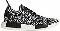 adidas Originals Men's NMD_r1 Pk Running Shoe, Black/Black/White, Size 13.0 8SEN
