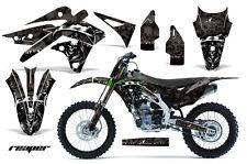 AMR Racing Kawasaki KX250 Graphic Number Plate Kit Bike Decal MX Part 13-15 RP K
