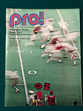 12/13/71 1971 WASHINGTON REDSKINS vs LOS ANGELES RAMS NFL ORIGINAL GAME PROGRAM