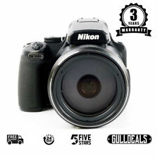 BRAND NEW Nikon COOLPIX P1000 Digital Camera Black UK NEXT DAY DELIVERY