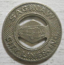 Saginaw City Lines (Michigan) transit token - MI845V