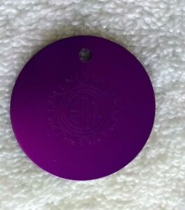 EMF Electromagnetic Fields Protection Tesla Purple Energy Large Disk
