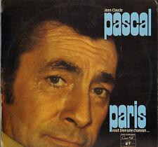 """JEAN-CLAUDE PASCAL """"PARIS VAUT BIEN UNE CHANSON"""" 60'S LP"""
