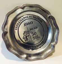 INDIANAPOLIS  MOTOR SPEEDWAY 50 YEARS INDY BEAR 61 of 1000 MADE PLATE