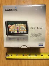 GARMIN NUVI 1350 GPS Tested Works Great With Extras