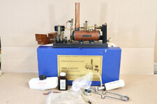 """MAXWELL HEMMENS LIVE STEAM The CATON TWIN 3/8"""" MARINE ENGINE & BOILER nv"""