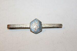Vintage Siam Sterling Silver Tie Clip - Goddess of Lightning Mekala