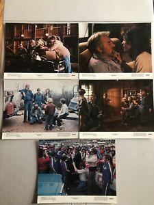 5 Original Lobby Cards 11x14: Six Pack (1982) Kenny Rogers,Diane Lane