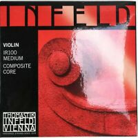 Infeld IR100 Medium Composite Red Violin Strings 4/4 Size