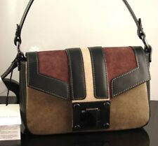 Vittoria Napoli Ruga Suede Leather Toscano Shoulder Hand Bag Made In Italy NWT