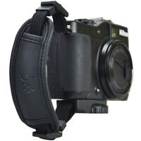Poigné Grip Sangle PU Cuir Appareil Photo DSLR et Mirrorless Canon Nikon Sony..