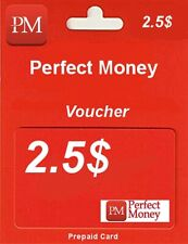 PERFECT MONEY | KOD | VOUCHER | USD 2.5$ | TOP SPRZEDAWCA | SZYBKO !