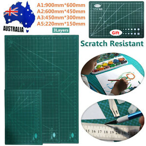 A1 A2 A3 Large Thick Self Healing Cutting Mat Double-Side Art Craft DIY Free A5