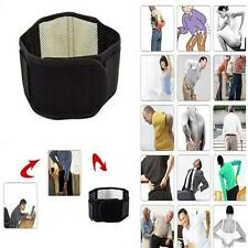 1pc Soft Magnetic Heat Waist Brace For Pain Relief Lower Back Support Belt J