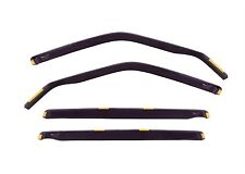 DCE10507 CHEVROLET LACETTI estate 2004-up wind deflectors  4pc set TINTED HEKO
