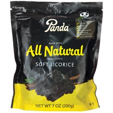 Panda Licorice All Natural Soft Licorice 7 oz Pkg