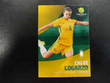 2017/18 TAP'N'PLAY A-LEAGUE CARD NO.035 CHLOE LOGARZO WESTFIELD MATILDAS