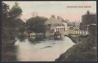 Ringwood, Hampshire. West Street, Ringwood from Bridge. 1906 Postmark Postcard