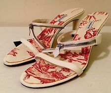 Authentic Cacharel Canvas Summer Heels EU 38.5 BNIB - REDUCED PRICE