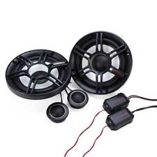 Crunch 300W Full Range 2 Way 4 Ohm Component Car Audio 6.5