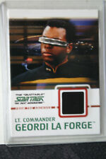 Quotable STAR TREK Next Generation archives Costume card C5 Geordi LaForge black