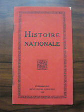 Histoire nationale 1913 Luxembourg 51v. Chr - 1912 celtes romains Luxemburg Buch