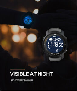 Digital Business Sport Watch Bluetooth Waterproof Monitor Heart Rate For Android
