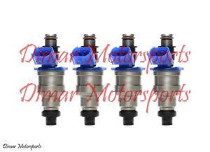 OEM Fuel Injector Set of 4 FITS 1990-1992 MAZDA 626