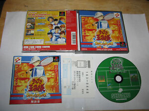 Prince of Tennis Sweat and Tears Playstation PS1 Japan import