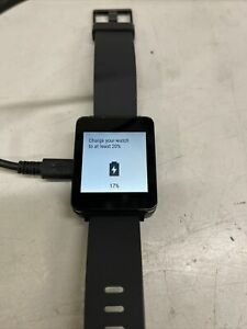 LG  LG-W100 Smartwatch (Unit only) *Black*  A1 condition