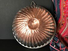 Old Turkish Copper Jelly Mold …beautiful display and collection item