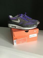 Nike Air Max 1 Rare Deadstock Purple 2008 Uk 10 HOA Trainers Shoes Patta