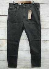 Levi's 510 Jeans Mens 32X32 Dark Grey Stretch Skinny At Waist Jeans New
