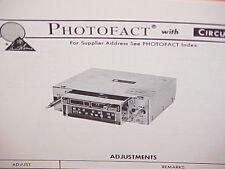 1975 BOMAN ASTROSONIX 8-TRACK TAPE PLAYER/AM-FM/MPX RADIO SERVICE MANUAL BM-1125