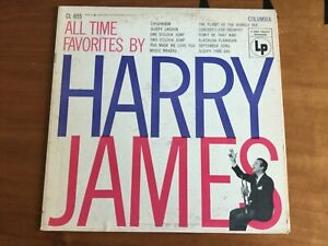 All Time Favorites by Harry James 1955 Vinyl LP Columbia CL 655