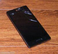 LG Optimus L9 MS769 - 4GB - Black (MetroPCS) 5.0MP Smartphone w/ Power Supply