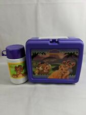 Vintage Lion King 2 Simba's Pride Plastic Lunchbox Rare With Thermos!