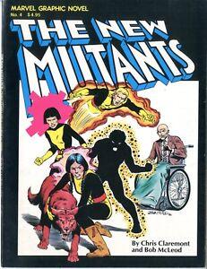 Marvel Graphic Novel   #4   FINE VERY FINE  1982   Origin & 1st App.  See photos